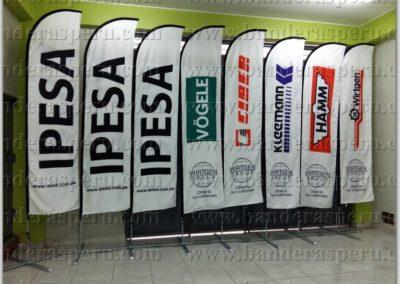 Banderas tipo vela IPESA