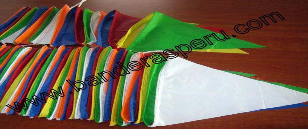 Banderas de plastico Banderas Perú