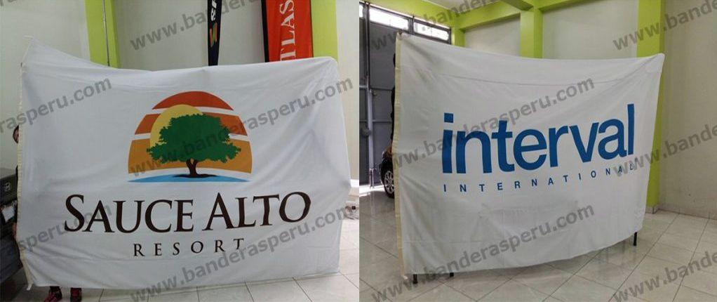 Banderas para hoteles Banderas Perú