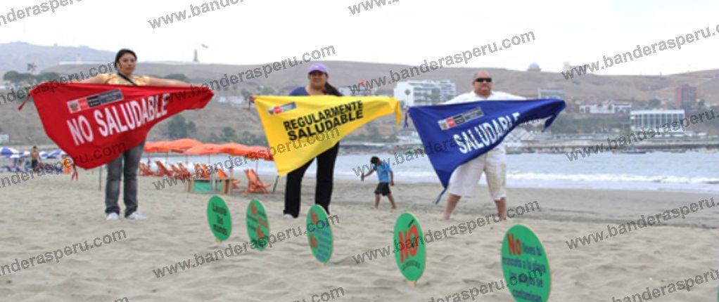 Banderas monumentales en peru Banderas Perú