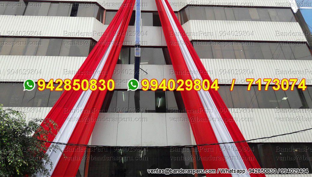 pendones colgantes para edificios