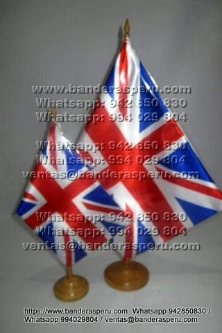 Confección banderas para escritorio de Gran Bretaña