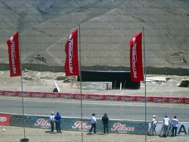 Confección de banderas publicitarias en lima