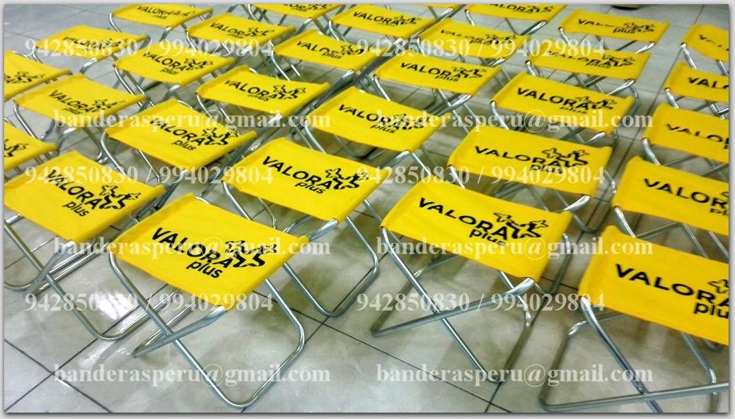 Sillas para playa, sillas publicitarias