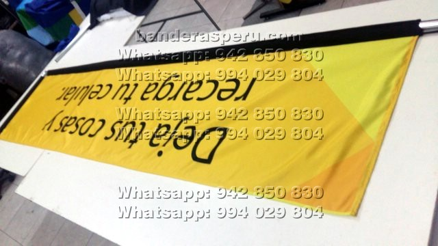Banderines deportivos, banderas para pared