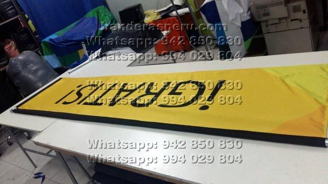 Banderas publicitarias para auto, banderas campaña política
