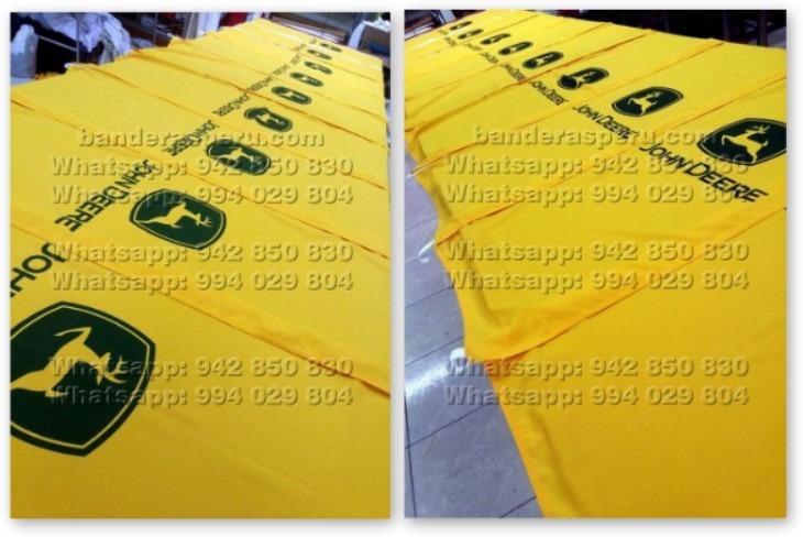 Banderas verticales L Invertida Jhon Deere en Perú